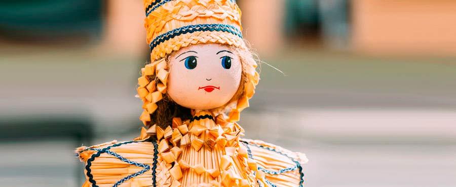 belarus straw doll