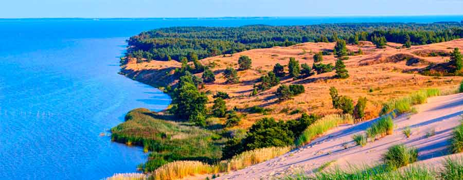 curonian spit in lithuania