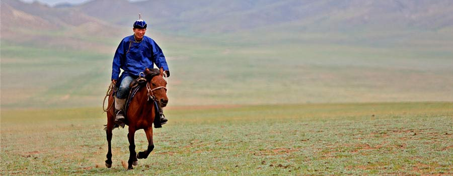 nomad in mongolia