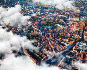 Vilnius panorama, Lithuania