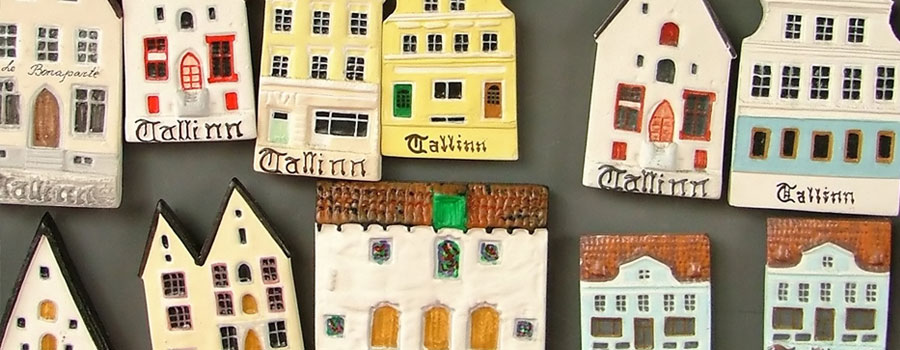 estonia souvenir houses place to go