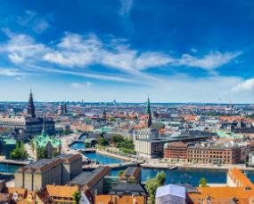 Copenhagen panorama, Denmark