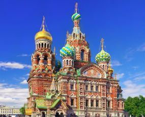 Church of the Bleeding Savior, St. Petersburg