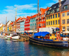 Old Town of Copenhagen, Denmark