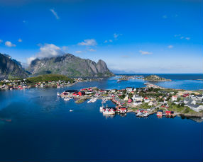 Norvegian fjord, Norway