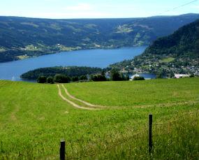 Fagernes landscape, Norway