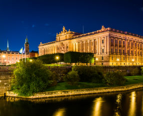 Grand Palace of Stockholm, Sweden