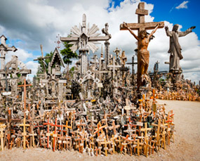 Hill of crosses, Šiauliai, Lithuania
