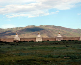 Kharkhorin panorama, Mongolia