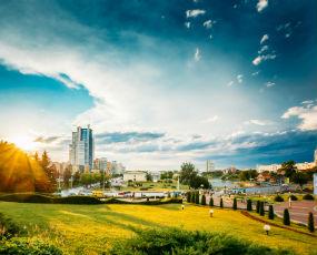 Minsk panorama, Belarus