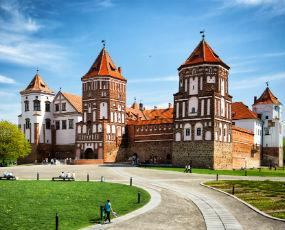 Mir Castle in Belarus x