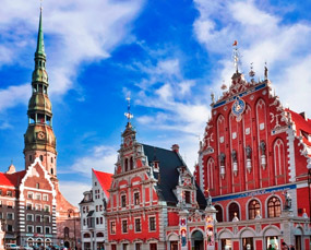 Old town of Riga, Latvia