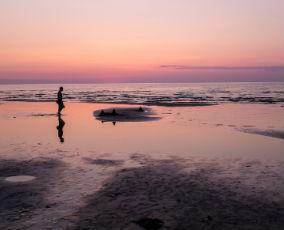 Jurmala beach, Latvia
