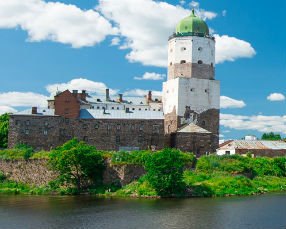 Vyborg-Castle, Russia