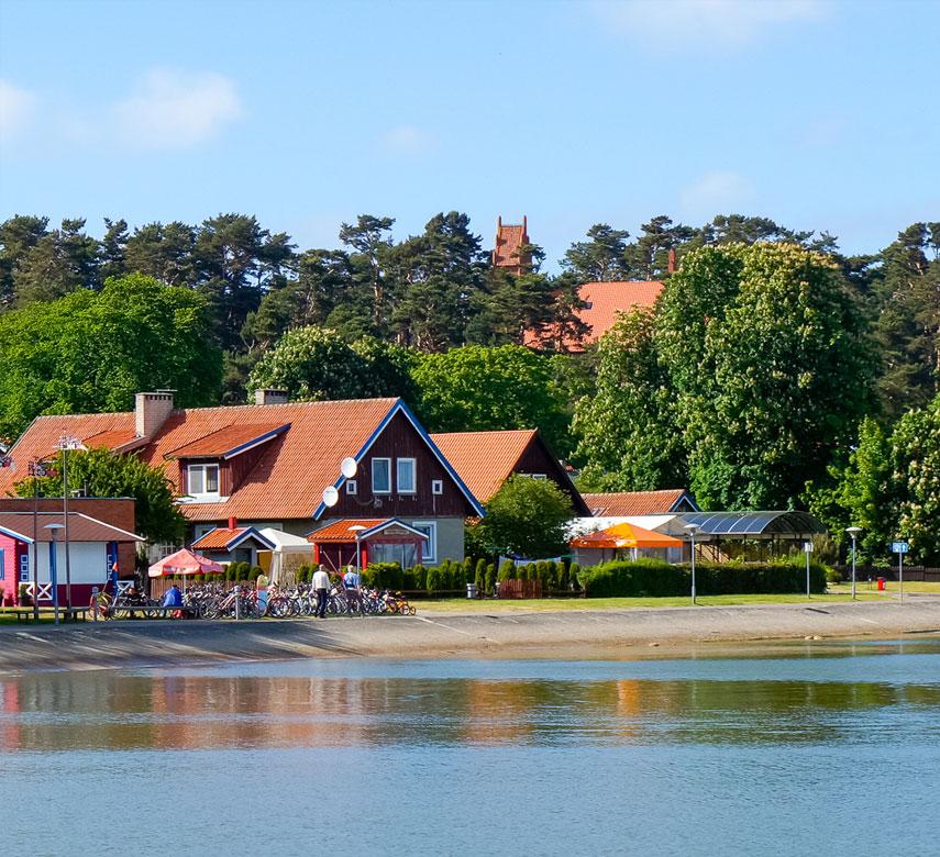 Nida landscape, Lithuania