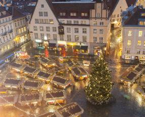 Christmas Market in Tallinn Old Town