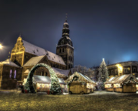 Christmas Market in Riga x