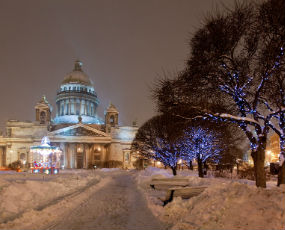 Christmas time in St Petersburg