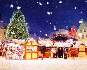 Christmas spirit in Tallinn
