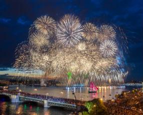 New Year in St Petersburg
