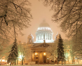 Winter time in St Petersburg
