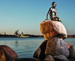 Little Mermaid Baltic Tours visit Copenhagen travel to Denmark 250x204