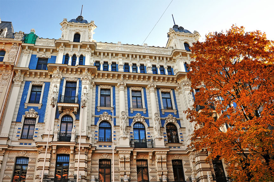 Discover Art Nouveau in Riga (1) – place to visit | Baltic Tours