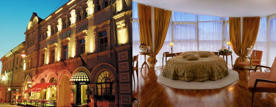 europa royale vilnius place to stay