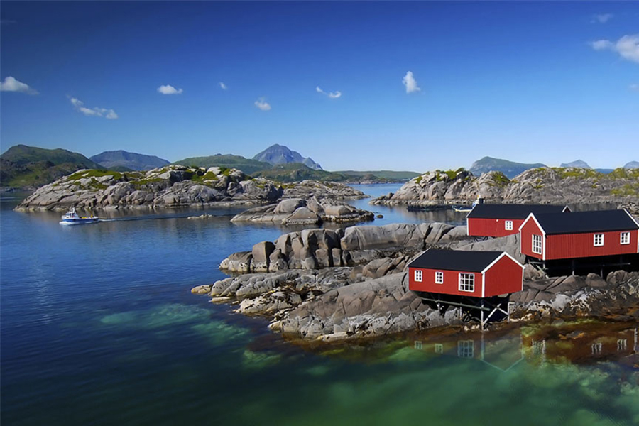 Norwegian Fjords fishing | Baltic Tours