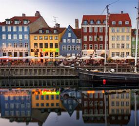 Old Town of Copenhagen, Denmark