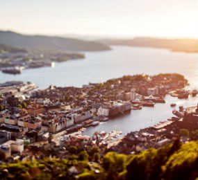 Bergen panorama, Norway