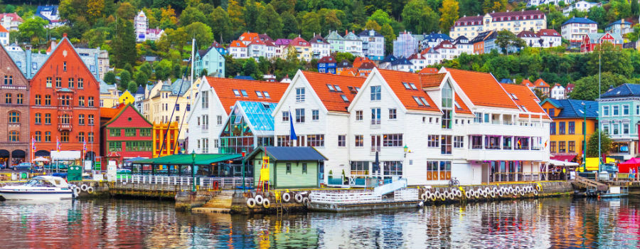 Visit Bergen. Travel Norway. Holidays in Scandinavia. Baltic Tours.