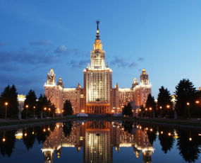 Lomonosov Moscow State University in Moscow
