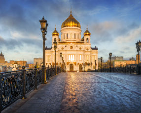 The Cathedral of Christ the Saviour Moscow