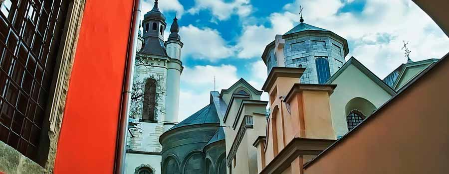 Ukraine Lviv Armenian Church with Baltic Tours1