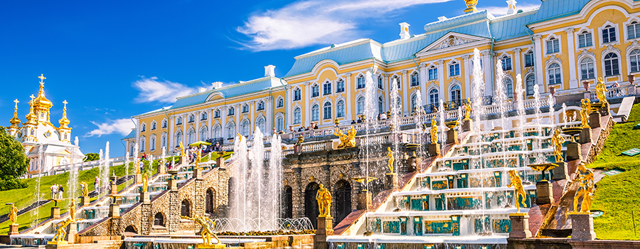 Visit Peterhof - tour in Russia - Baltic Tours