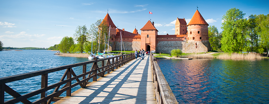 Visit Trakai. Trakai tour. Baltic Tours.