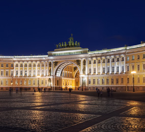 Hermitage Art Museum in St. Petersburg, Russia
