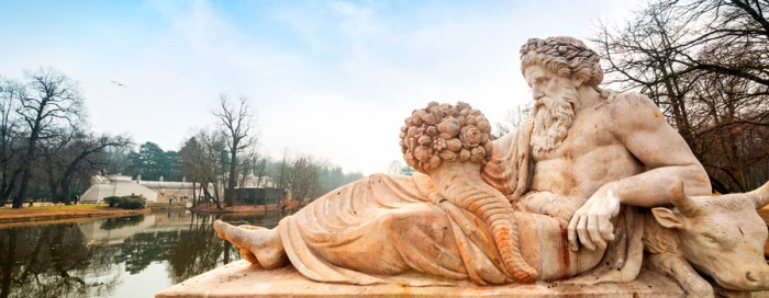 Travel to Bug River statue in Lazienki Park with Baltic Tours 700x2721