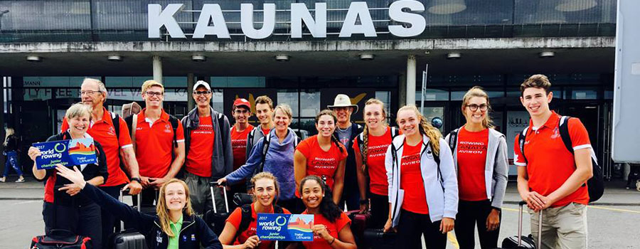 Baltic Tours In World Rowing Junior Championship 2017
