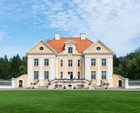 Manor House in Palmse, Estonia