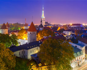Tallinn panorama, Estonia