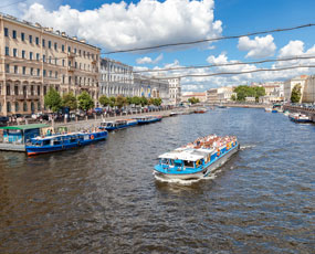 St. Petersburg channel cruise