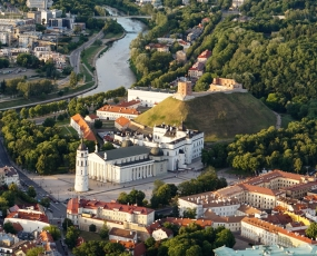 Vilnius panorama, Lietuva