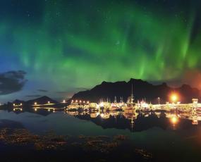 Tromso at the night