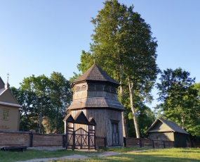 Paluse wooden church in the Aukstaitija National Park, Lithuania