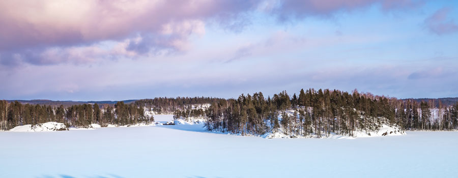 Lake-Finland-Winter