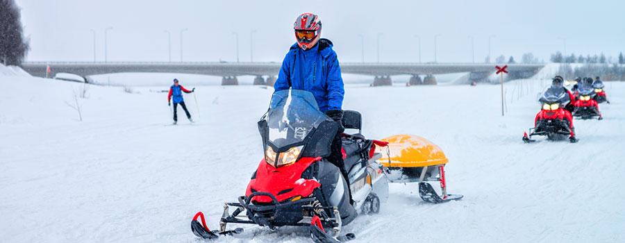 Rovaniemi-Snowmobile
