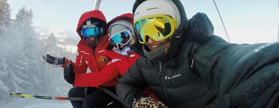 skiing baltic
