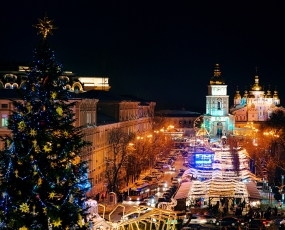 Christmas time in Kiev